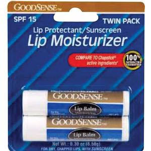 GoodSense Moisture Lip Balm With SPF 15