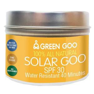 Green Goo unscented Solar Goo Sunscreen, SPF 30, 4 oz