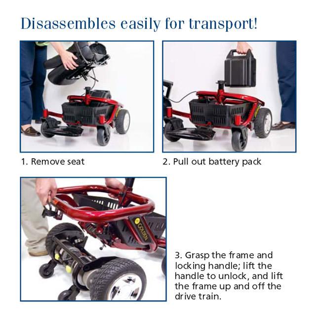 GoldenTech Literider Envy Power Wheelchair | GoldenTech GP162