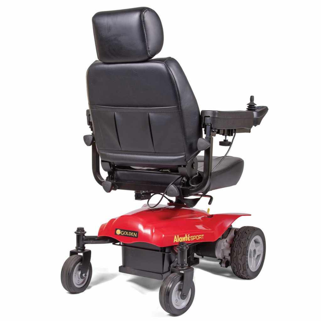 GoldenTech Alante Sport Power Wheelchair | GoldenTech Alante GP208