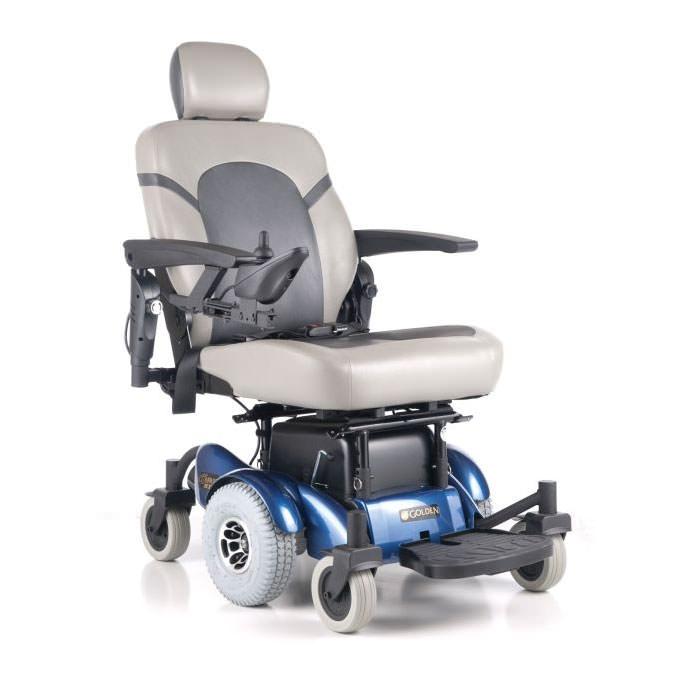 GoldenTech Compass Heavy Duty Power Wheelchair | GoldenTech GP620SS