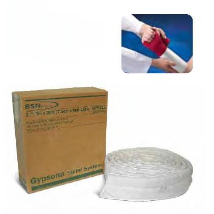 Gypsona Foot Plaster Padded Splint Roll