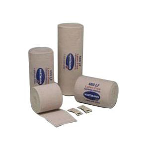 """Deluxe Reinforced Elastic Bandage, Latex Free, Stretched 4"""" x 11 yards"""