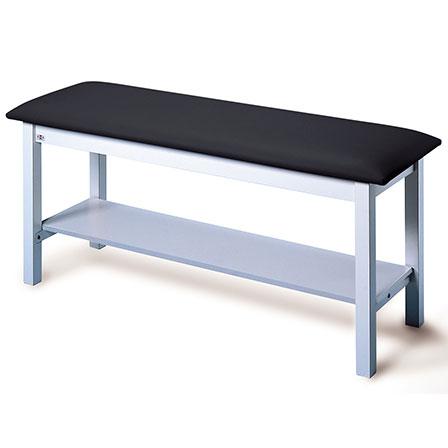 Hausmann 4024 H-brace treatment table with shelf