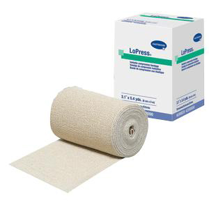 """LoPress Inelastic Compression Bandage, Non-Sterile, Stretched 5-2/5 yards x 3-1/10"""""""