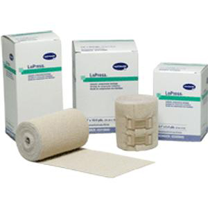 """LoPress Inelastic Compression Bandage, Non-Sterile Stretched, 3-9/10"""" x 5-2/5 yards"""