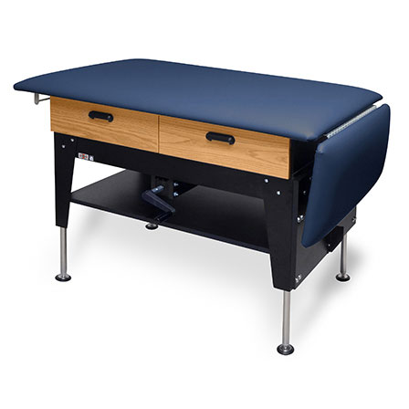 Hausmann changing-treatment table with drawers