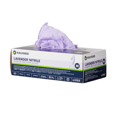 Halyard Nitrile Powder Free NonSterile Exam Glove, Medium