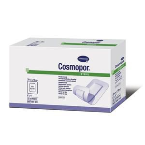 "Cosmopore Sterile Adhesive Wound Dressing, 8"" x 4"""