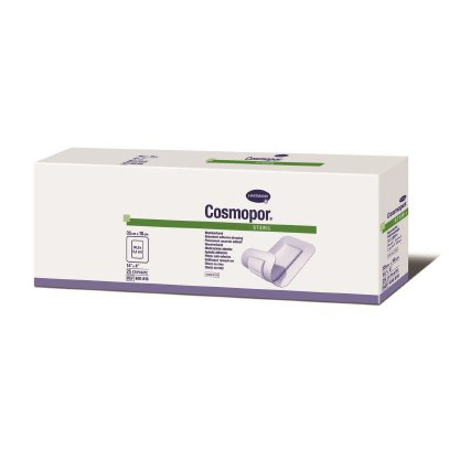 "Hartmann conco cosmopore adhesive wound dressing 4"" x 14"""