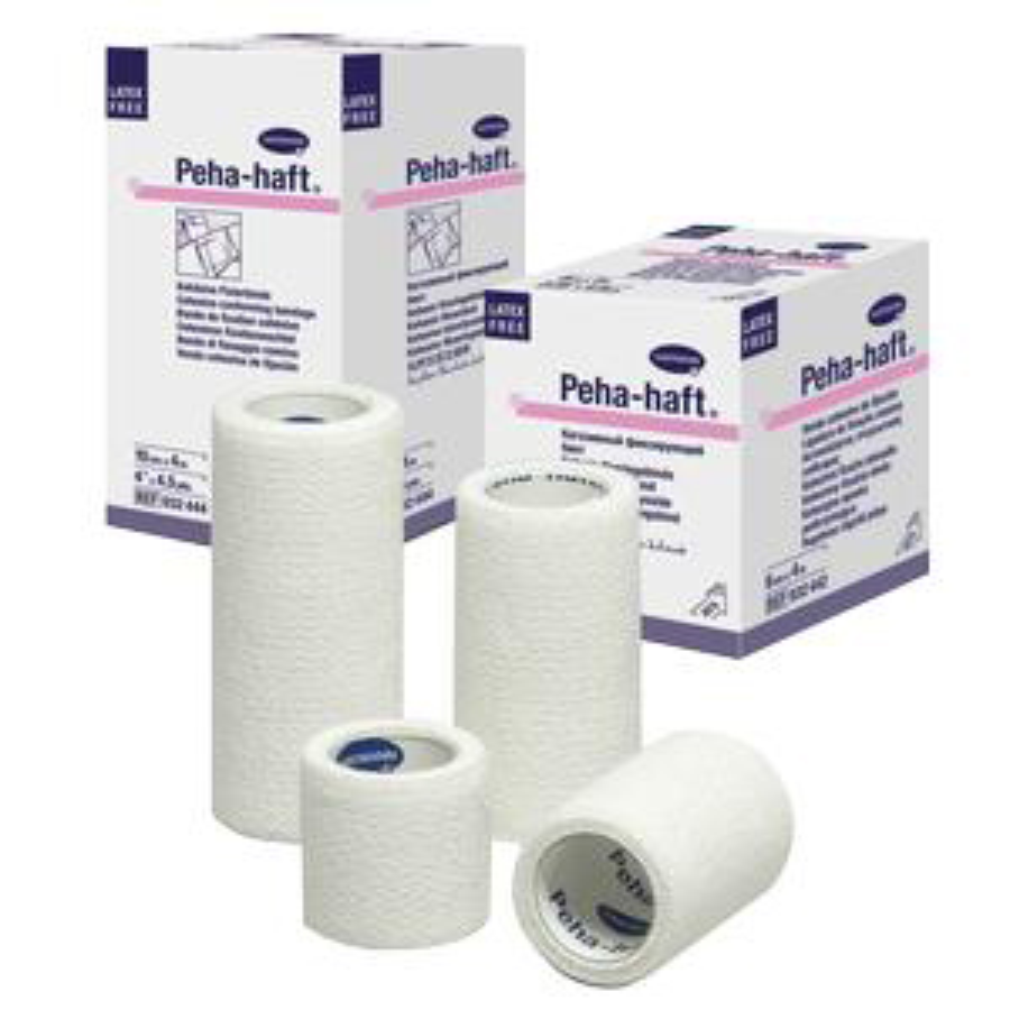 "Peha-Haft Absorbent Cohesive Conforming Gauze Bandage, Latex-Free, 1"" x 4-1/2 yards"