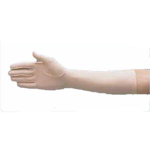 "Hatch Left Full Finger Compression Edema Glove Medium, 9"", Tan"