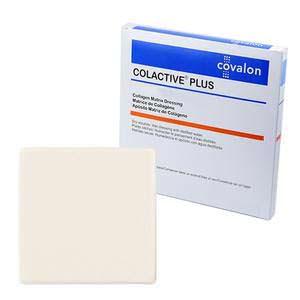 """Covalon ColActive Plus Collagen Matrix Dressing, 2"""" x 2"""""""