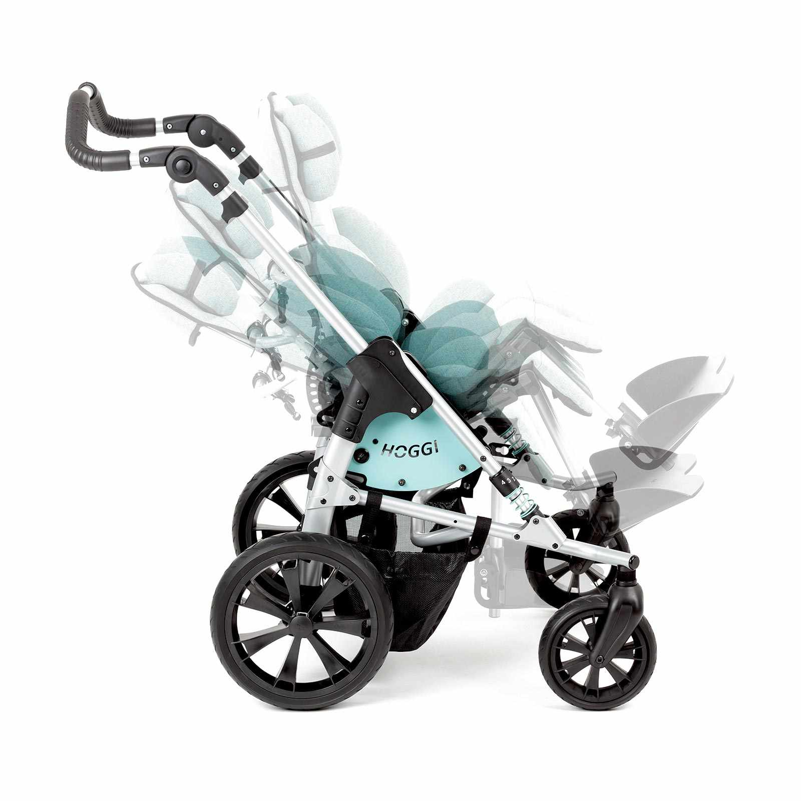 Bingo evolution stroller - Blue