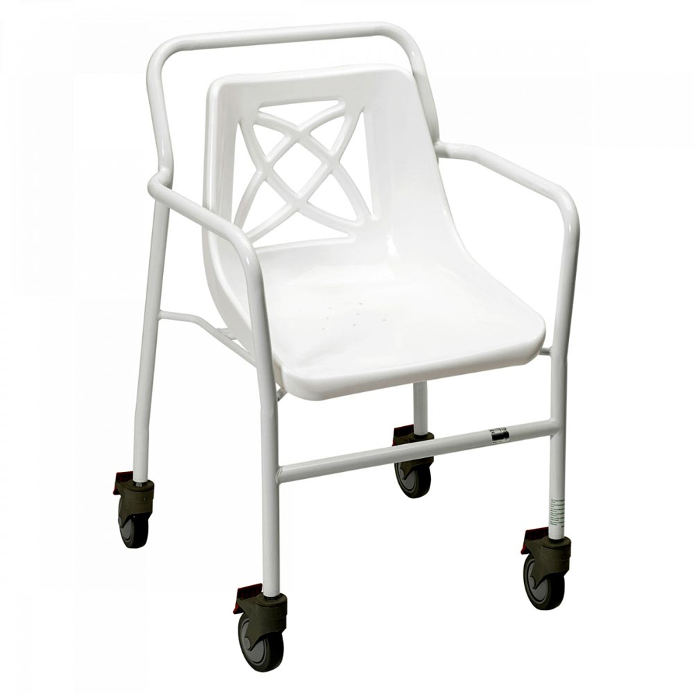 Homecraft Adjustable Wheeled Shower Chair   Medicaleshop