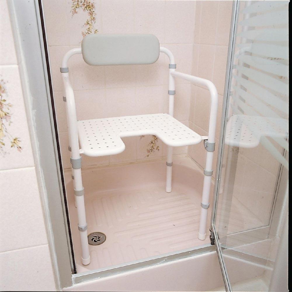 Homecraft Uni-Frame Folding Shower Chair   Medicaleshop