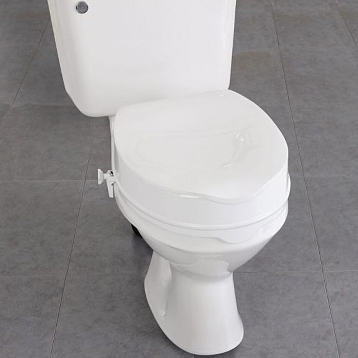 Homecraft Savanah Raised Toilet Seat with Lid | Medicaleshop