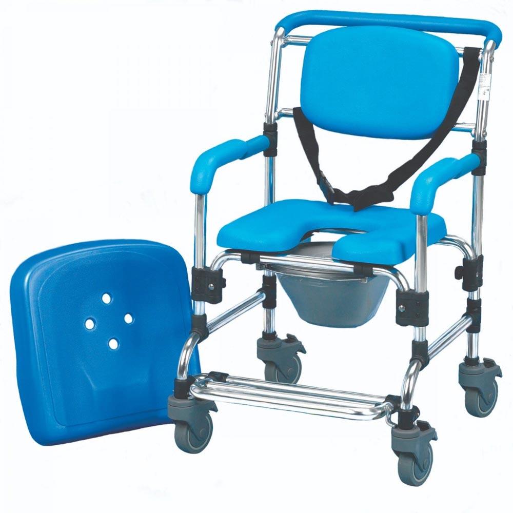 Homecraft Ocean Wheeled Shower Commode Chair