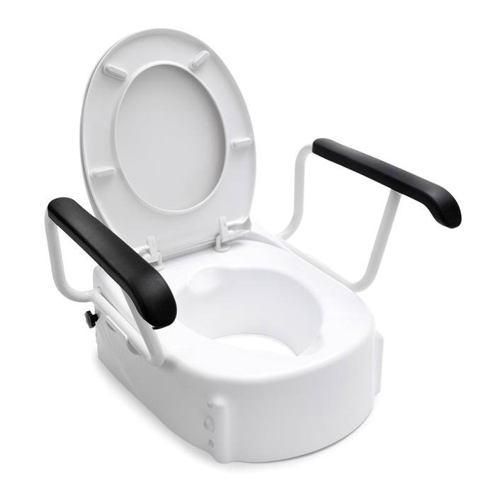 Handicare Raised Toilet Seat With Lid