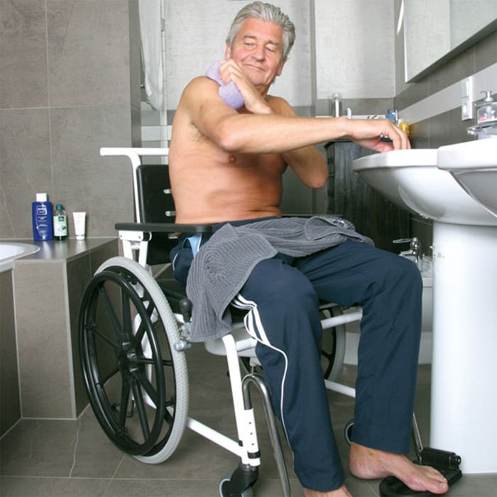 Combi Self Propelled Shower Commode Chair - Handicare