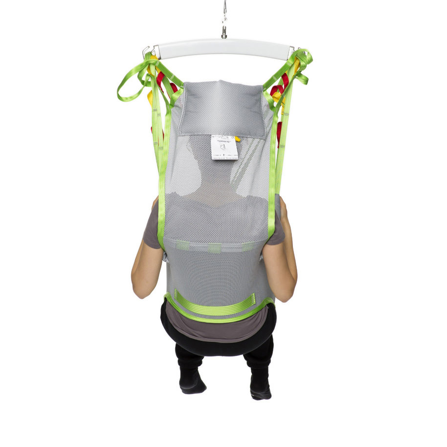 Human Care Toileting High Back Sling, Polyester Net