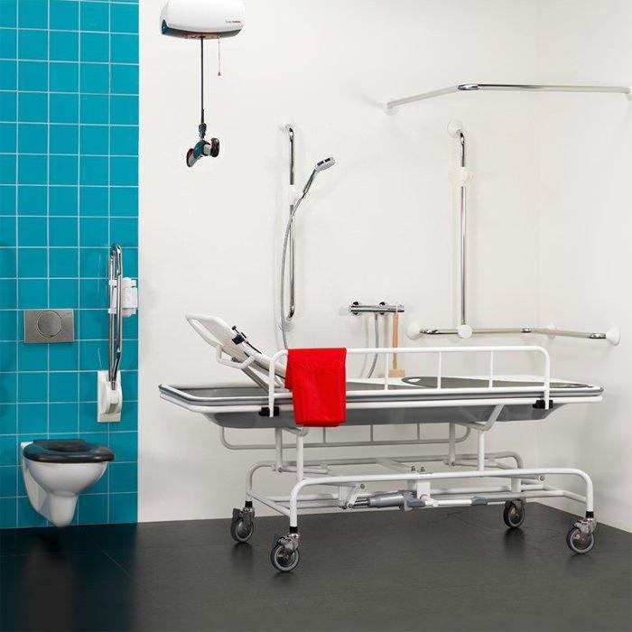 Handicare Shower Trolley - Height Adjustable