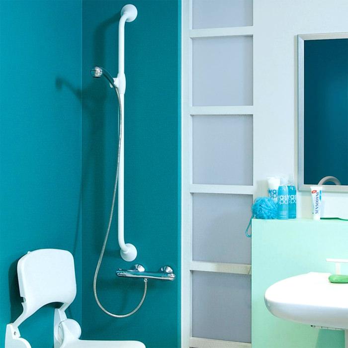 Handicare Linido Ergogrip Straight Grab Rail for Toilet & Bathroom