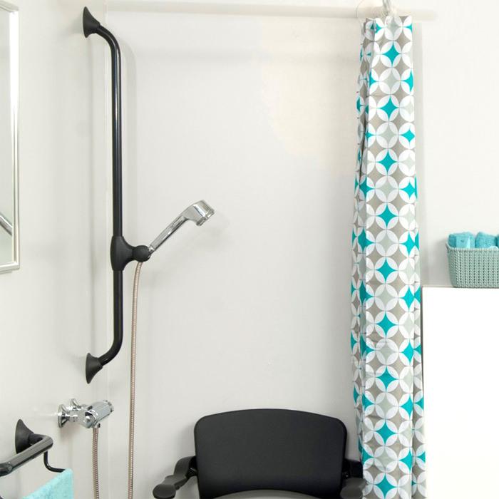 Handicare Linido Ergogrip Straight Grab Rail - Bath Safety Aids