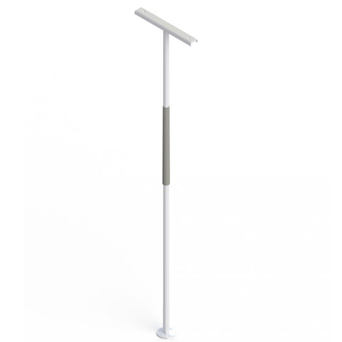 HealthCraft superpole stand assist system with angled ceiling plate