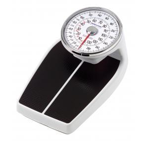 Health O Meter Mechanical Floor Scale, 400 lb, White