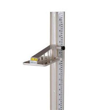 Health O Meter Wall Mount Height Rod, Lightweight