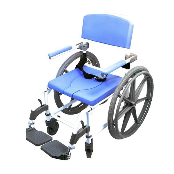 EZee Life 150 Aluminum Rehab Shower Commode Chair (Model 150)