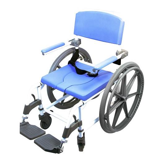 EZee Life Aluminum Shower Commode Chair (Model 180-4W)