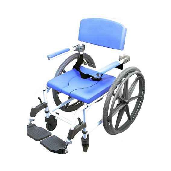 EZee Life 186 Aluminum Rehab Shower Commode Chair