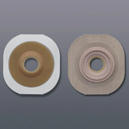 "Hollister skin barrier new image pre-cut 2-3/4"" flange blue code 1-5/8 inch"