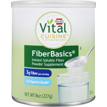 Homel Vital Cuisine FiberBasics Oral Fiber Supplement, Unflvvored, 8 oz. Can
