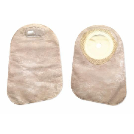 """Hollister premier 1-Piece Trim To Fit Filtered Ostomy Pouch, 9"""" L, 2-1/2 to 3"""" Stoma, Oval"""