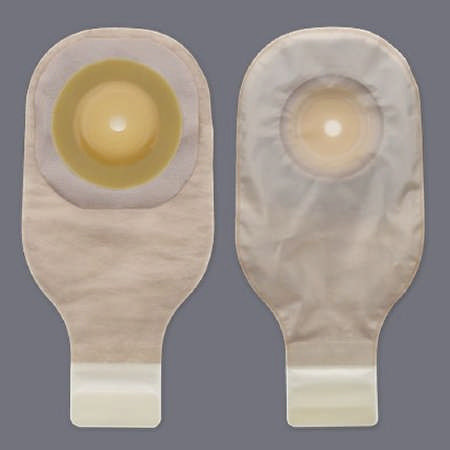 """Hollister colostomy pouch one-piece system 12"""" length 2"""" stoma drainable"""