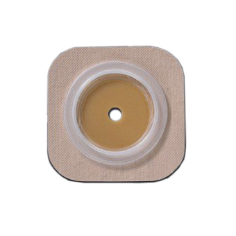 "Hollister Hydrocolloid Cut-fit Colostomy Barrier, Flextend tape 2-1/4"" Flange upto 1-3/4"""