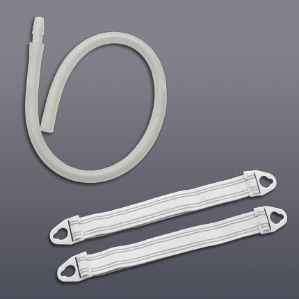 Hollister Leg Strap Small 15 Inch Vinyl Reusable Plastic Belt Tabs