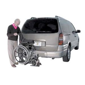 AL003 Tilt N' Tote manual wheelchair lift