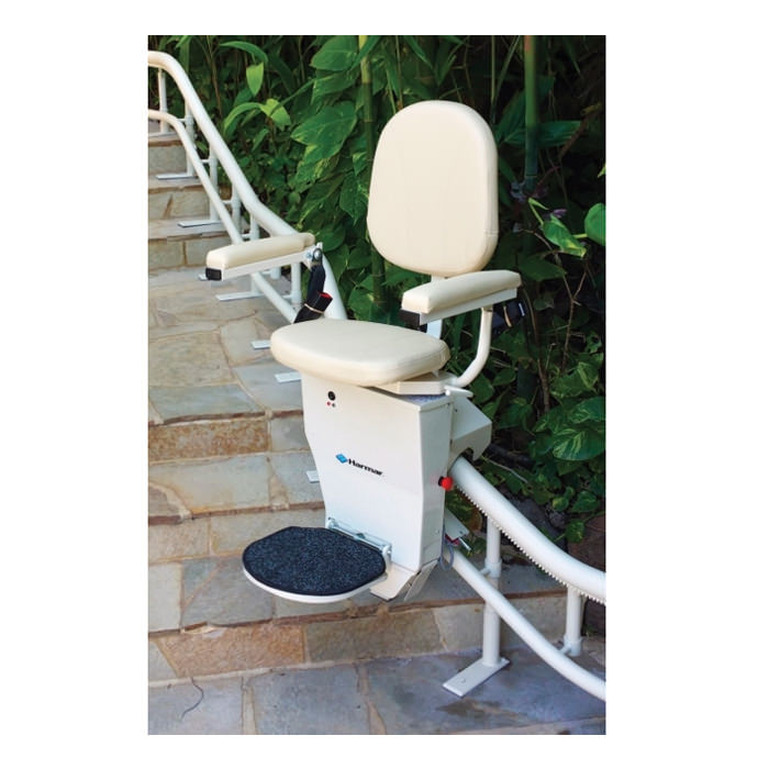 Harmar helix curved stair lift