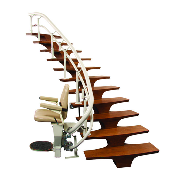Helix stair lift
