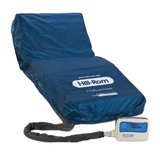 Hillrom 310 wound care mattress with alternating pressure and low air loss