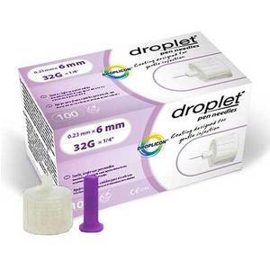 HTL-Strefa Droplet Pen Needle, 31 Gauze, 6mm