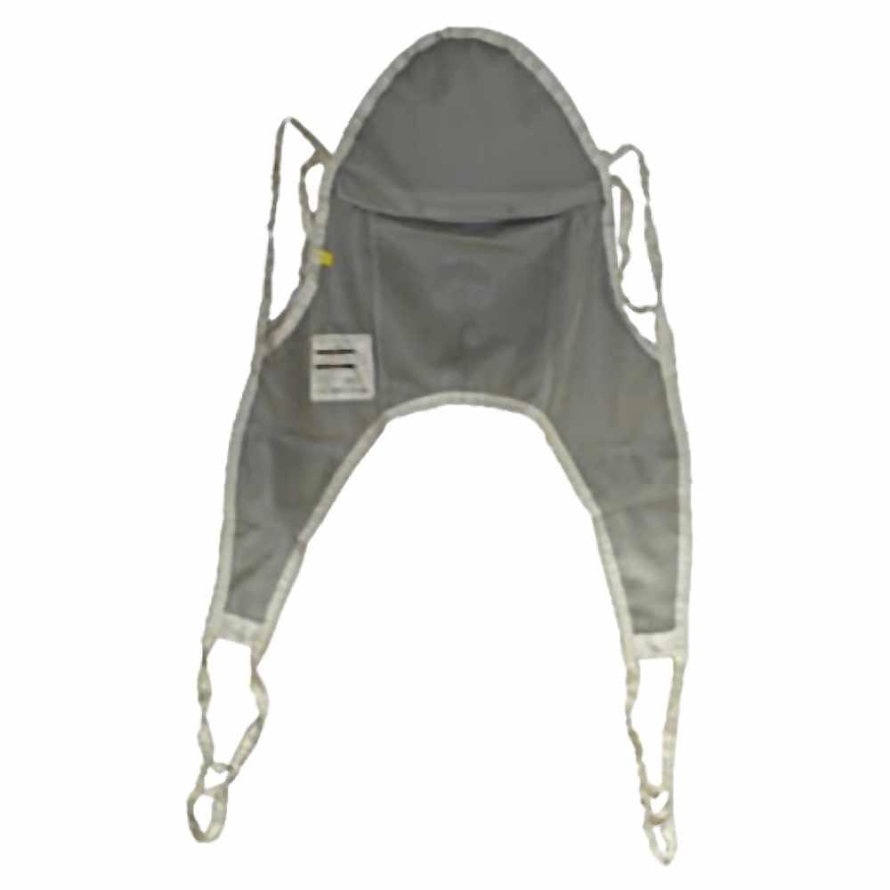 Hoyer nylon mesh bath sling with head support