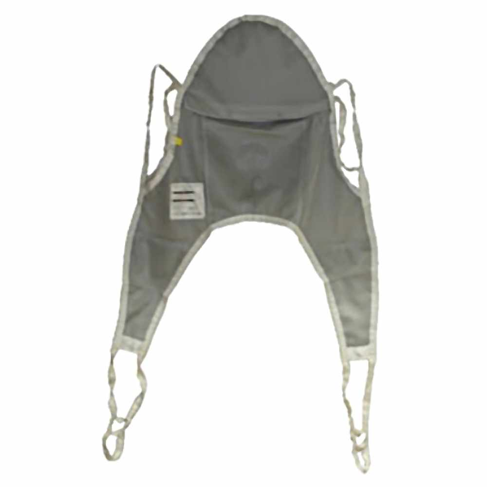 Hoyer nylon mesh bath sling with head support