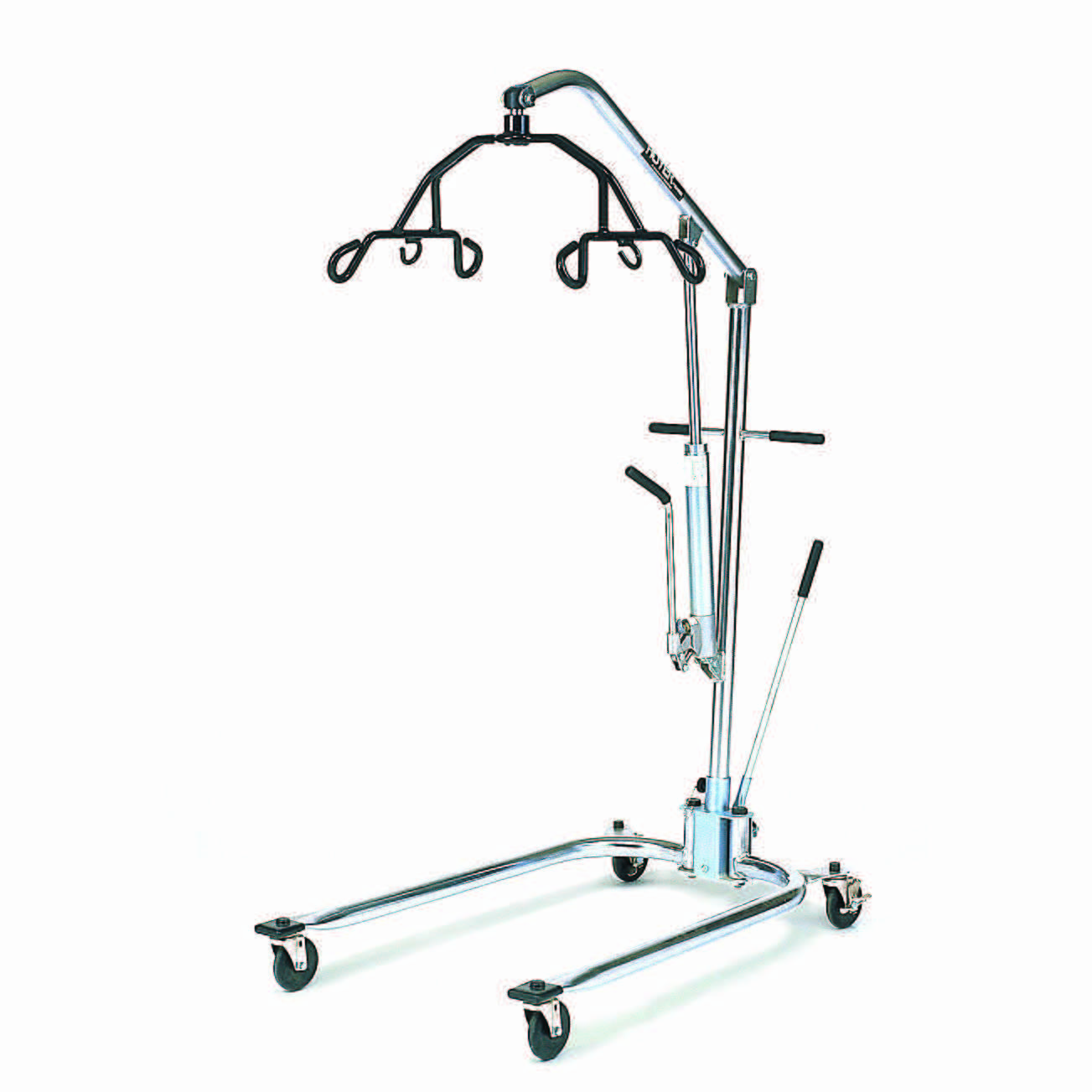 Hoyer 6-point chrome hydraulic patient lift