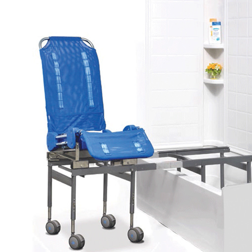 Ultima access bath transfer with compact transfer base