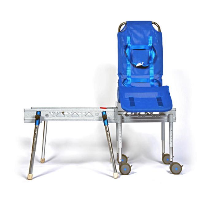 Ultima bath transfer chair with transfer base